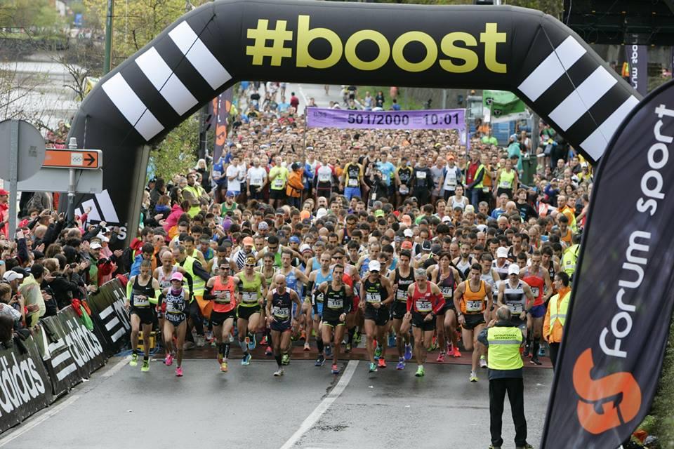 Maratón Behobia-San Sebastián 2017