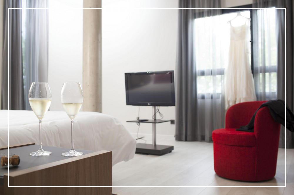 chambre hôtel K10 Urnieta, San Sebastián