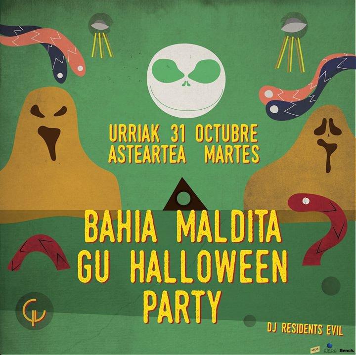 Planes para la Noche de Halloween 2017 en San Sebastián