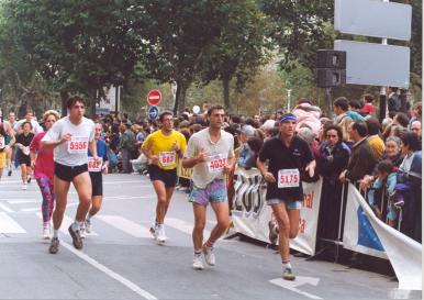 Historia de la Maratón Behobia - San Sebastián