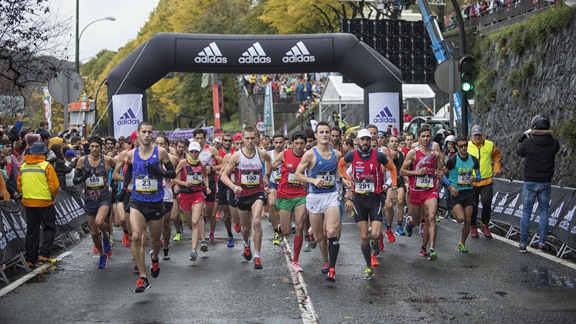 Maratón Behobia San Sebastián 2019