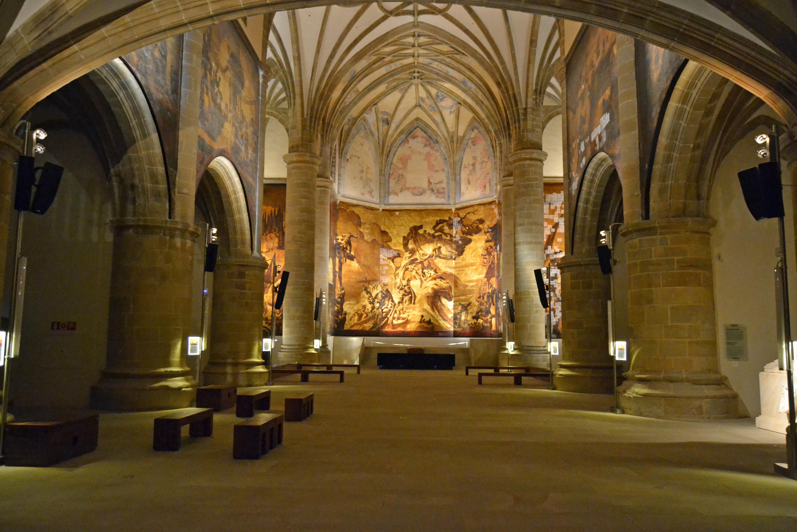 Cuatro museos imperdibles en San Sebastián - El museo San Telmo presenta una iglesia con pinturas al fresco