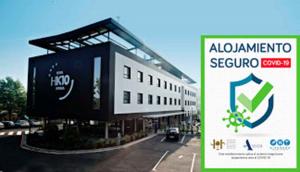 Certificado Alojamiento Seguro - Hotel k10.