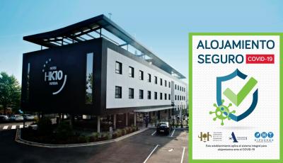 Certificado Alojamiento Seguro - Hotel k10..