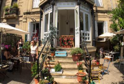 Terraza Kafe Botanika.